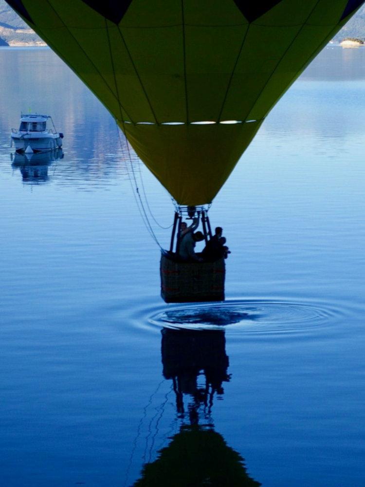 Vol en montgolfière à Serre-Ponçon