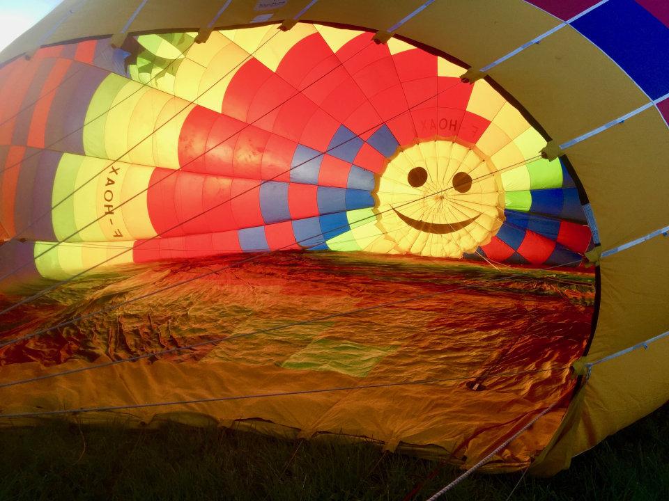 La montgolfière à Serre-Ponçon