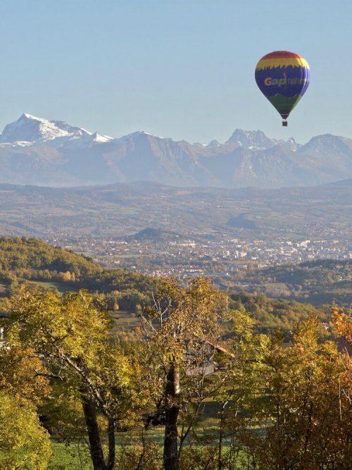 Vol en montgolfière à Gap