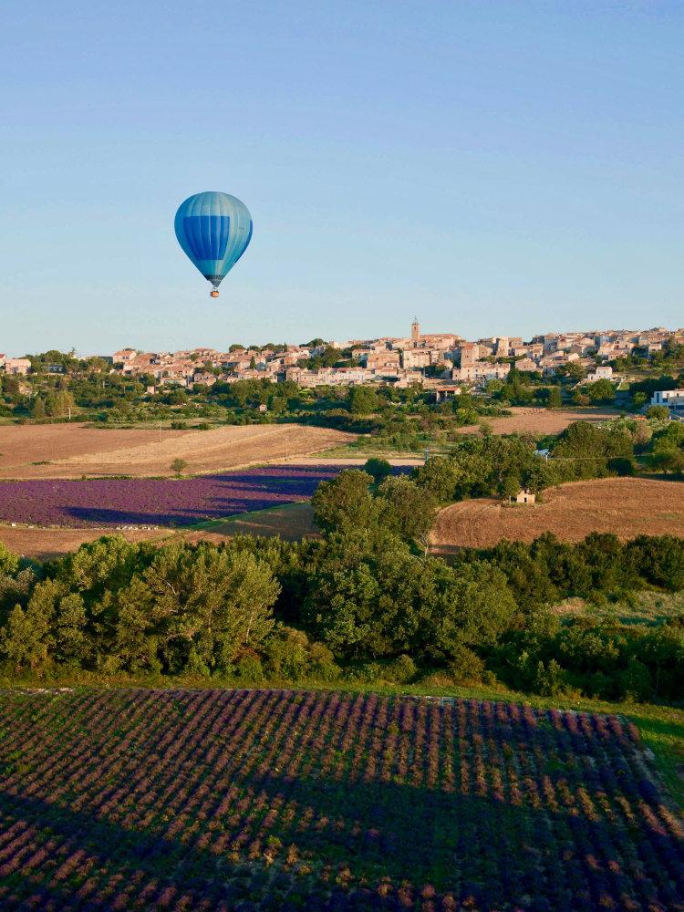 Vol en montgolfière à Valensole
