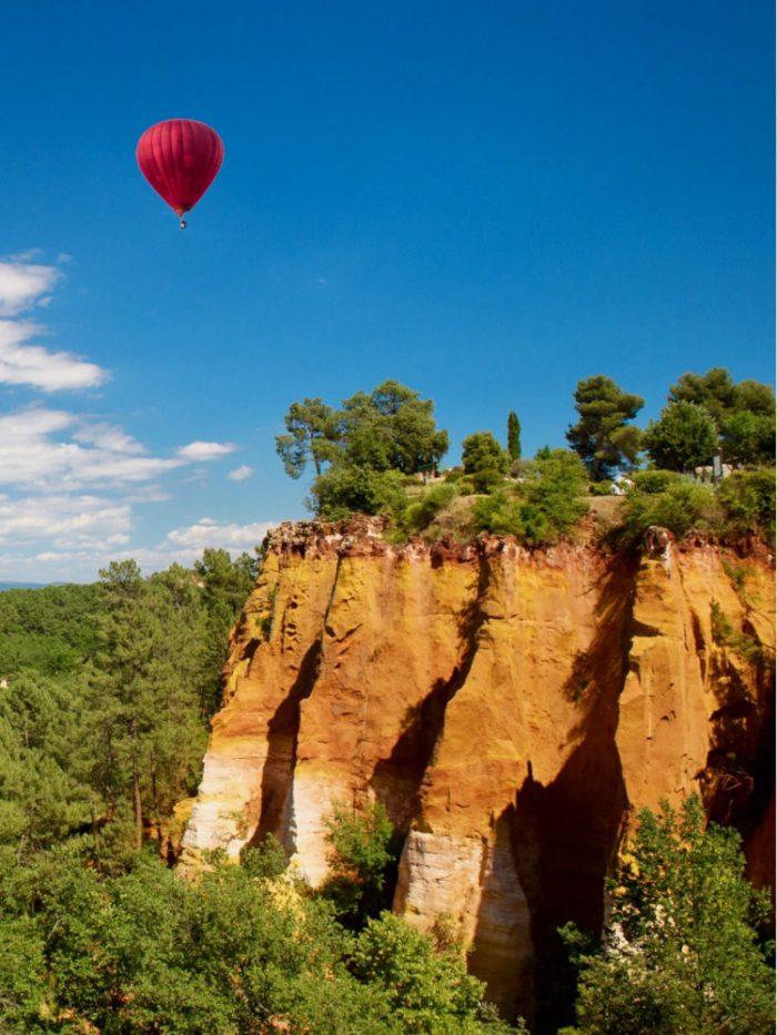 Vol en montgolfière dans le Lubéron