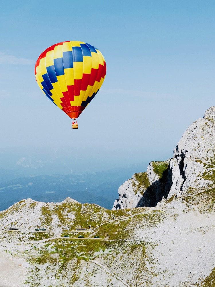 Voyage en montgolfière privatif